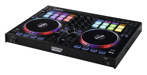 Reloop BeatPad 2 2-Deck DJ Controller with 16 RGB-Backlit Drum Pads BEATPAD-2