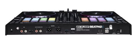 Reloop BEATPAD-2 BeatPad 2 2-Deck DJ Controller with 16 RGB-Backlit Drum Pads BEATPAD-2