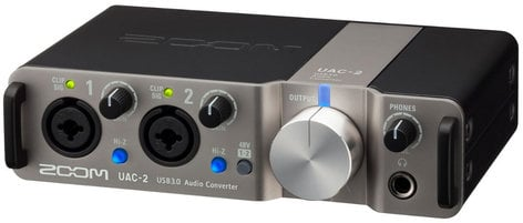 Zoom UAC-2 USB 3.0 SuperSpeed Audio Converter for Mac, PC, iPad UAC-2R