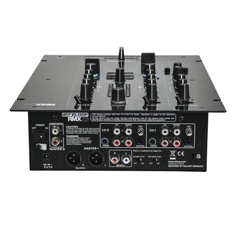 Reloop RMX-22i 2 + 1 Channel DJ Mixer with Onboard Instant FX RMX-22I