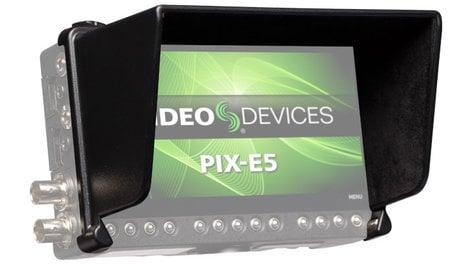 Video Devices PIX-E5 / 5H-HOOD Sun Hood for PIX-E5/5H Monitors PIX-E5/5H-HOOD