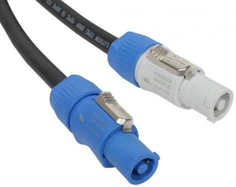 Elite Core Audio PC12-AB-1.5 1.5 ft Neutrik PowerCon Power Extension Cable PC12-AB-1.5