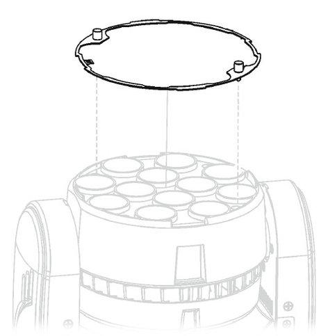 Robe Lighting, Inc Diffusion Filter 25° ROBIN 100 LEDBeam Diffusion Filter Kit DIFFUSION-FILTER-25