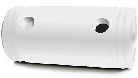 "Global Truss SPACER-105-WHITE Short Spacer 105mm (4.1"") in White SPACER-105-WHITE"