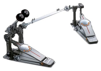 Pearl Drums P-3002DL Demon Direct Drive Left-Footed Double Kick Pedal with Custom Carry Case P3002DL
