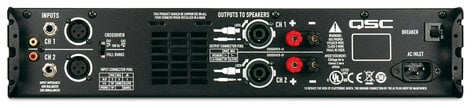 QSC GX7 725 W/CH @ 8 Ohms Power Amplifier GX7-QSC