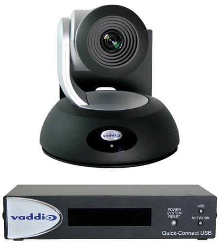 Vaddio RoboSHOT 12 QUSB PTZ QUSB System with RoboSHOT 12 Camera ROBOSHOT12-QUSB