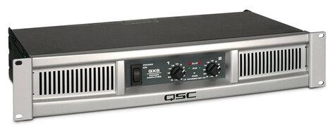 QSC GX5 2-Channel 500 Watts @ 8 Ohms Power Amplifier GX5-QSC