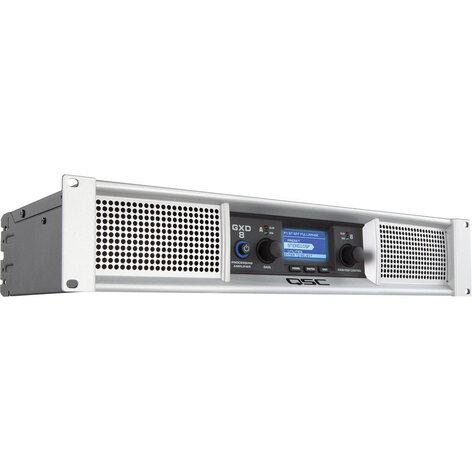 QSC GXD8 4500 Watt Peak 2-Channel Power Amplifier with DSP GXD8
