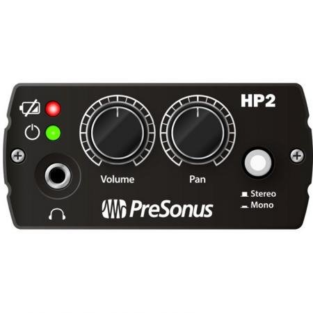 PreSonus HP2-PRESONUS Battery Powered Headphone Amp HP2-PRESONUS