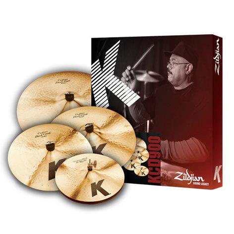 Zildjian K Custom Darkbox Set 5-Piece Dark Cymbal Set KCD900