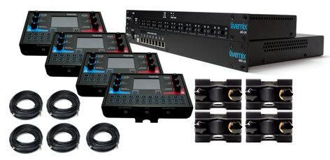 Livemix Analog Bundle Eight Mix Bundle for Analog Input LM-ANALOG-SK1