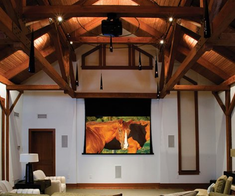 "Draper Shade and Screen 140030 133"" HDTV 16:9 Access/Series V Electric Projection Screen 140030"