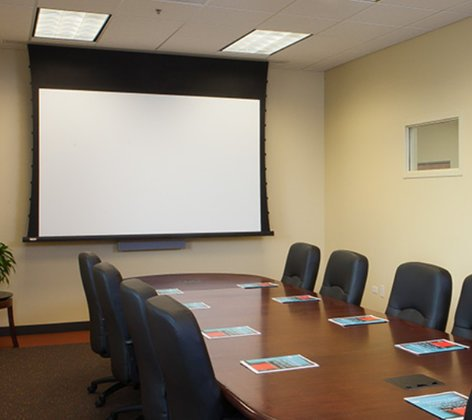 """Draper Shade and Screen 140039 137"""" 16:10 Access/Series V Electric Projection Screen 140039"""
