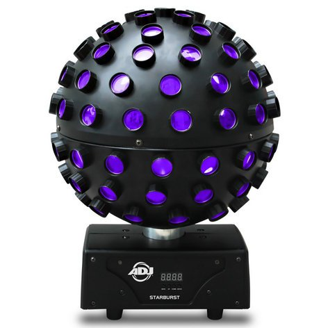 ADJ STARBURST 5x15W HEX Colored LED Sphere STARBURST