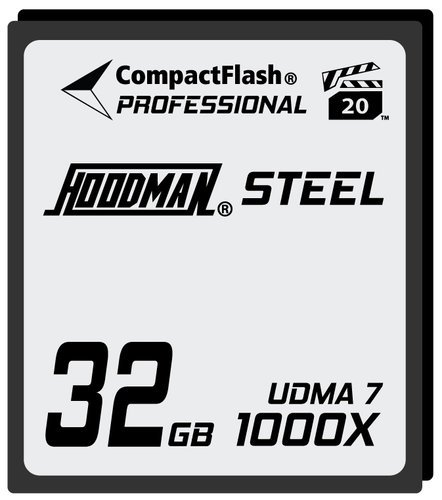 Hoodman Corporation HS7CF32 32GB Compact Flash Card 1000X HS7CF32