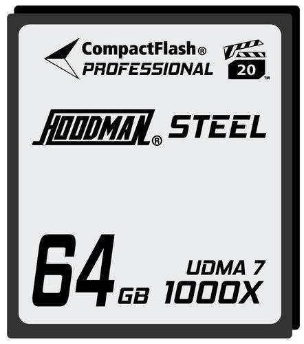 Hoodman HS7CF64  64GB Compact Flash Card 1000X HS7CF64