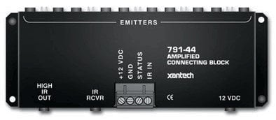 Xantech 791-44 Amplified Connecting Block for Multiple Emitters 079144