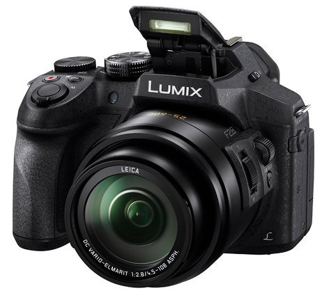 Panasonic DMC-FZ300K 12.1MP LUMIX FZ300 4K 24X F2.8 Long Zoom Digital Camera DMC-FZ300K
