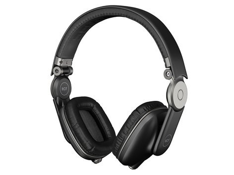 RCF Iconica Supra-Aural Headphones in Pepper Black ICONICA-B