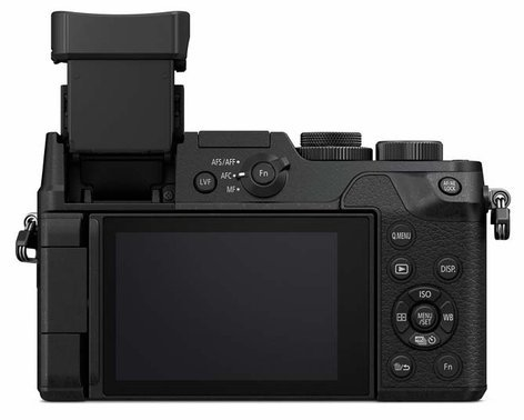 Panasonic DMC-GX8KBODY 20.3MP LUMIX GX8 Interchangeable Lens (DSLM) Camera Body Only in Black DMC-GX8KBODY