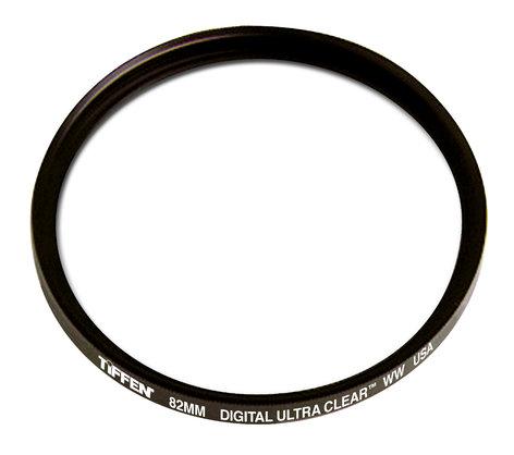 Tiffen W82DIGULTCLR Filter: 82MM Digital Ultra Clear WW W82DIGULTCLR