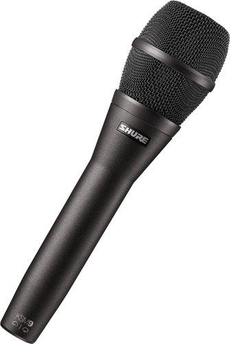 Shure KSM9/CG Dual-Pattern Handheld Condenser Microphone - Charcoal Grey Finish KSM9/CG