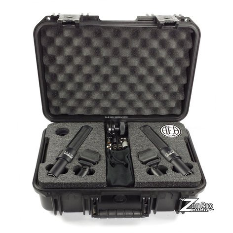 Audio Engineering Assoc N8 Nuvo Stereo Kit Stereo Pair of N8 Ribbon Microphones with Stereo Bar and Storage Case N8-NUVO-STEREO-KIT