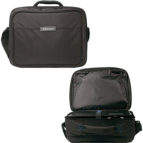 InFocus CA-SOFTCASE-MTG Soft Carry Case with Strap for Office or Classroom Projectors CA-SOFTCASE-MTG