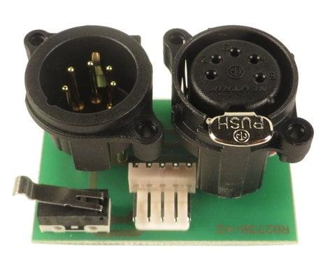 Robe Lighting, Inc 13031094-01  DMX 3-Pin PCB for ROBIN LED100 13031094-01