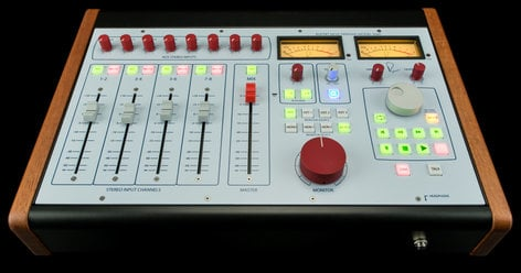 Rupert Neve Designs 5060-NEVE 5060 Centerpiece Desktop Mixer 24-in/2-out 5060-NEVE