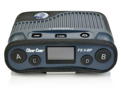 Clear-Com FSII-BP19-X4-US FreeSpeak II-19 Beltpack FSII-BP19-X4-US