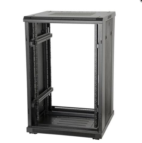 """Gator Cases GRW3022508  22U, 23"""" Deep Floor-Standing Rack w/ Steel Doors GRW3022508"""