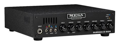 Mesa Boogie Ltd Subway D-800 800 W Class D Bass Amplifier Head SUBWAY-D800