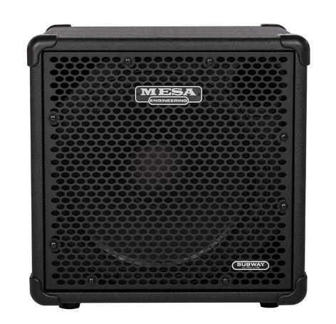 """Mesa Boogie Ltd Subway Ultra-Lite 1x15 1x15"""" 400 W (8 Ohms) Bass Cabinet SUBWAY-1X15"""