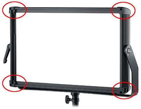 Rosco Laboratories Silk 210 Corner Piece Module with Magnetic Retention Mechanism 294115110000