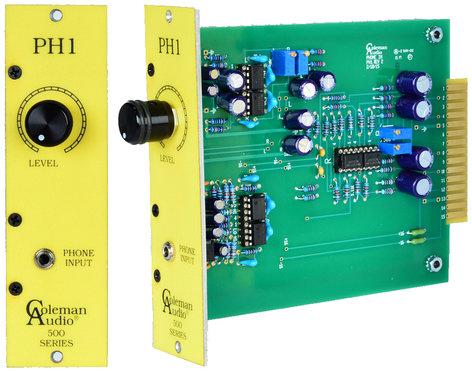 Coleman Audio PH1BLK PH1 Series 500 Cell Phone Interface, Black Knob PH1BLK