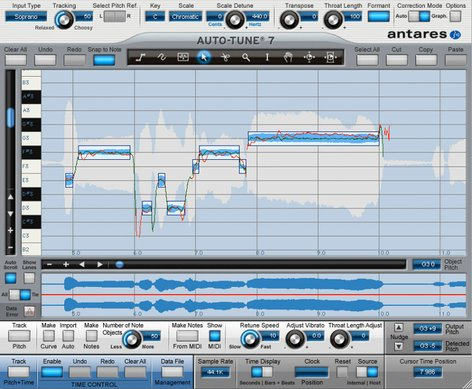 Antares Auto-Tune 7 TDM/RTAS Pitch Correction Software Plug-In for Legacy Pro Tools TDM/RTAS Systems AUTO-TUNE7-TDM/RTAS