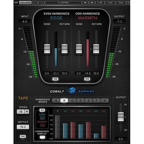 Waves Cobalt Saphira Harmonic Enhancement Plugin CBLSP