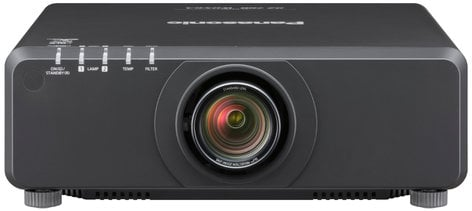 Panasonic PTDW750LBU WXGA 7000 Lumen DLP Projector Body Only in Black (Lens Sold Separately) PTDW750LBU