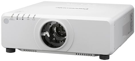 Panasonic PTDW750LWU WXGA 7000 Lumen DLP Projector Body Only in White (Lens Sold Separately) PTDW750LWU