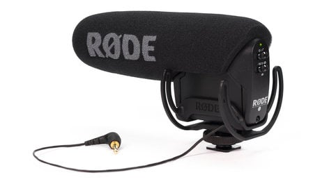 Compact Shotgun Mic Wrycote Lyre Shockmount Hpf Level Control By