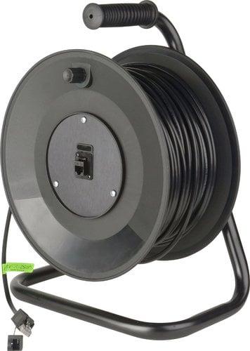 TecNec MKR-TC-300PS Connect-N-Go Cat5e Cable Reel with RJ45 Connectors MKR-TC-300PS