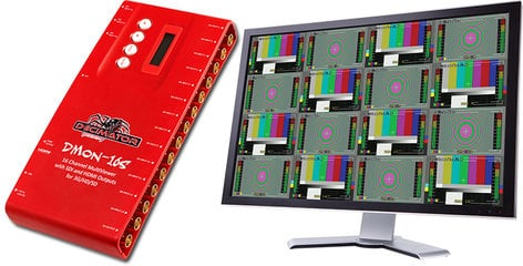 Decimator Design DMON-16S 16 Channel Video Multiviewer with HDMI and SDI DEC-DMON-16S