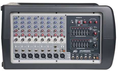 Peavey XR-S  9-Channel Powered Mixer with FX XR-S
