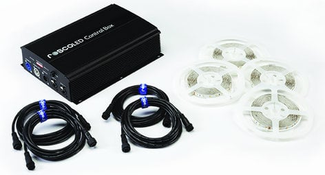 Rosco Laboratories RoscoLED Tape Static White Kit - 5600K 293220100015