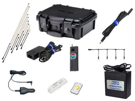 Rosco Laboratories RoscoLED Tape Pro Gaffer Kit - Tungsten (3000K) 293220003000