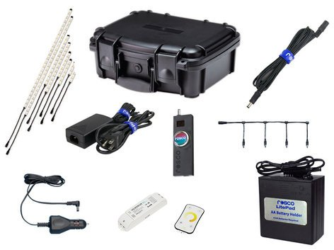 Rosco Laboratories RoscoLED Tape Pro Gaffer Kit - Daylight (5600K) 293220005600