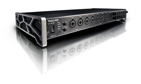Tascam US-20x20 20x20 Celesonic USB 3.0/2.0 Audio Interface and Digital Mixer US20X20