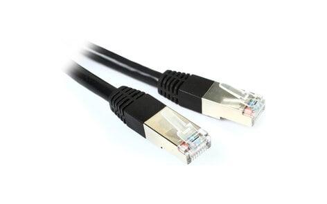 Livemix CBL-CAT6-50 50` Shielded CAT6 Cable, BLK CBL-CAT6-50
